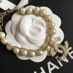 Authentic Chanel Pearl Bracelet